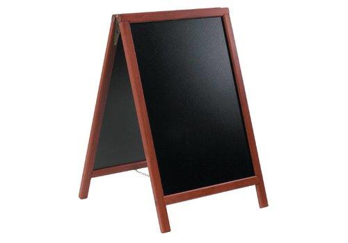 Securit Außerhalb Holz Chalk Board | 2 Größen