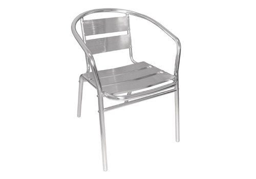 Bolero Patio Chair Aluminum Classic | 4 pieces