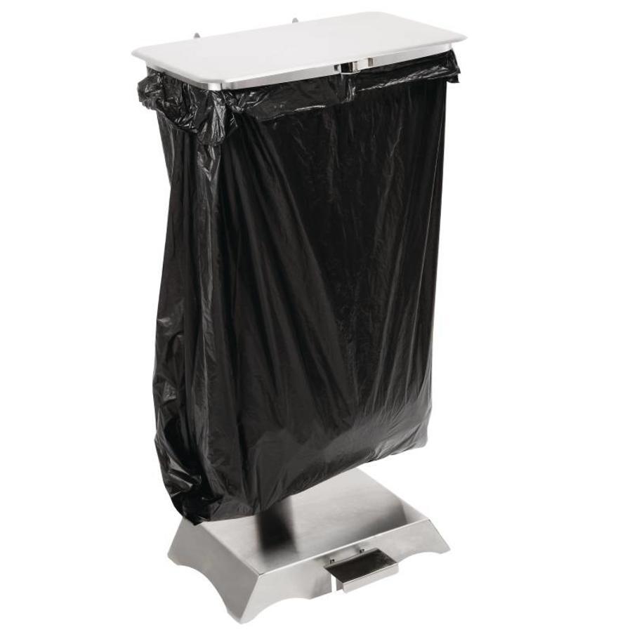 Stainless Steel Garbage bag Shelf Home Kitchen countertop folding Trash Bracket