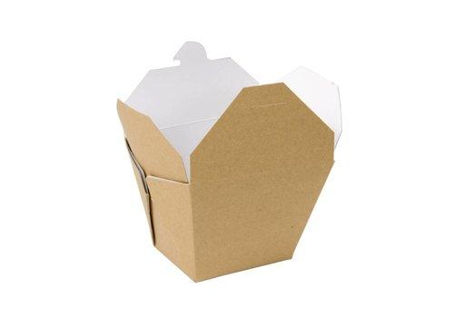 HorecaTraders Multi food cardboard box (250 pieces) | 2 Sizes