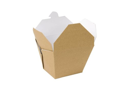 HorecaTraders Multi kartonnen voedseldoos (stuks 250) | 2 Formaten