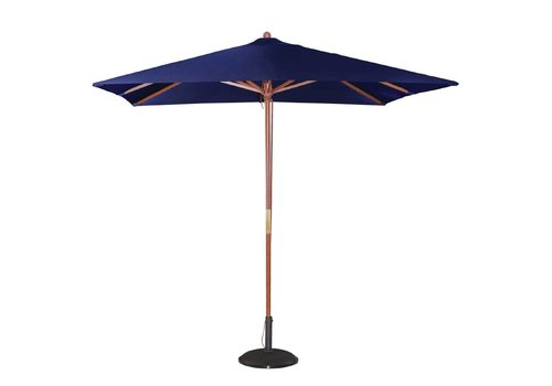 Bolero Terrasse Sonnenschirm Blau 2,7 (h) x 2,5 (l) x 2,5 (b) meter