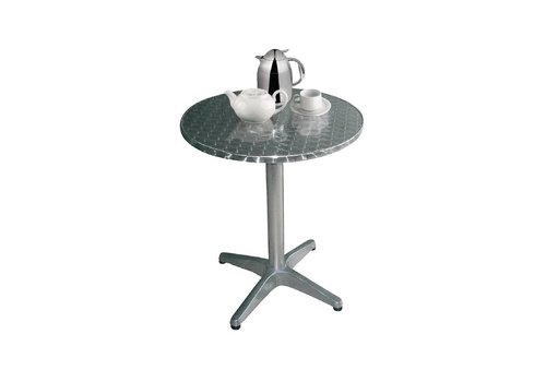 Bolero RVS tafel Tafel Rond Ø 80 cm - Grande Café Series