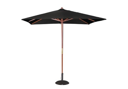 Bolero Parasol Square Black