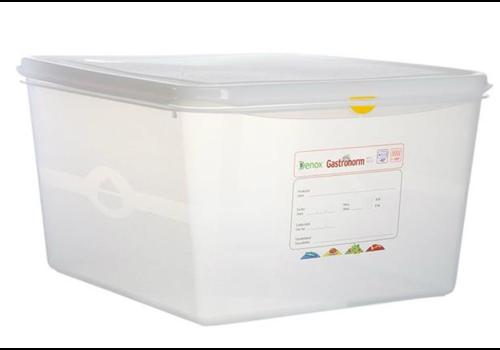 Plastibac Gastronorm Aufbewahrungsboxen 2/3 GN | 6 stück