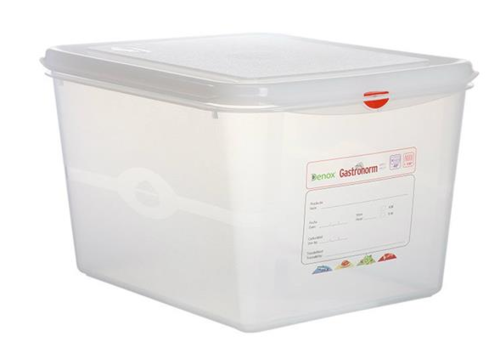 Plastibac Gastronorm storage boxes 1/2 GN | 6 pieces