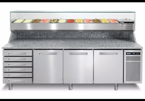 Afinox Pizzawerkbank | Pizzaspring 831i | R290