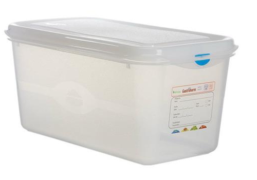 Plastibac Gastronorm storage boxes 1/3 GN | 6 pieces