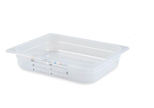 Plastibac Gastronorm Stock boxes GN1 / 2 | 12 pieces
