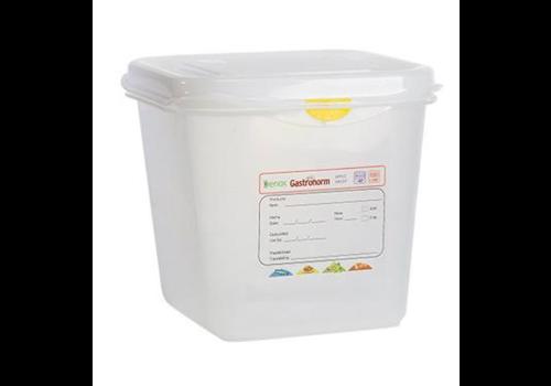 Plastibac Gastronorm Voorraaddozen | 1/6 GN | 12 stuks