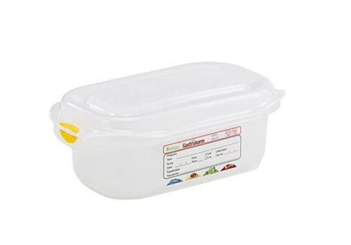 Plastibac Gastronorm storage boxes 1/9 GN | 12 pieces