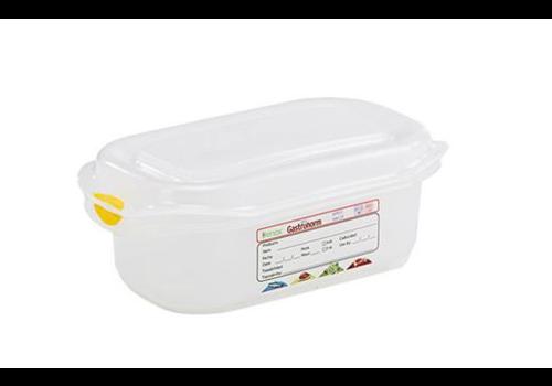 Plastibac Gastronorm Voorraaddozen | 1/9 GN | 12 stuks