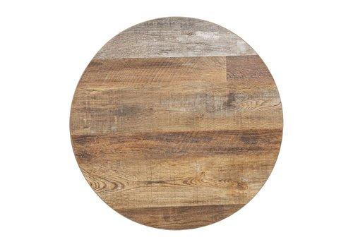 Bolero Runde Tischplatte Urban Dark 60 cm