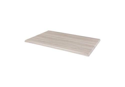 Bolero Rechteckige Tischplatten-Tünche