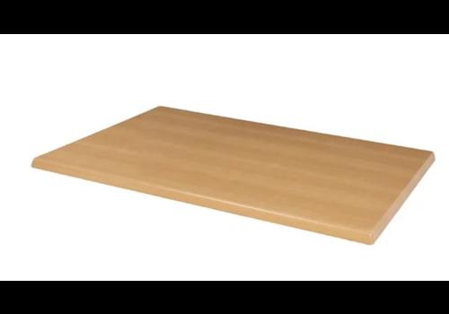 Bolero Rechteckige Tischplatte aus Buche