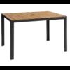 Bolero Rectangular steel and acacia wood Table 120 x 80 cm