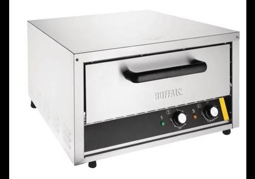 Buffalo Pizzaofen aus Edelstahl 230 V