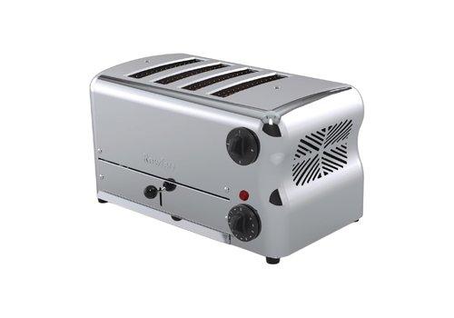 Rowlett Esprit Toaster 4 Steckplätze | Chrome