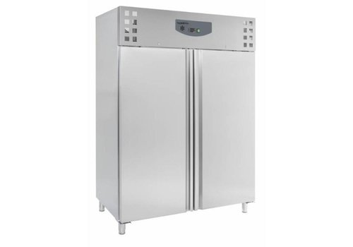 Combisteel Horeca Freezer Stainless Steel | 2 doors | 1410 liters