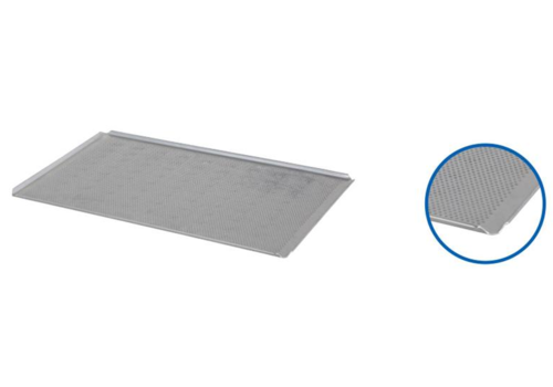 HorecaTraders Aluminum Baking tray GN 1/1 | 2 formats