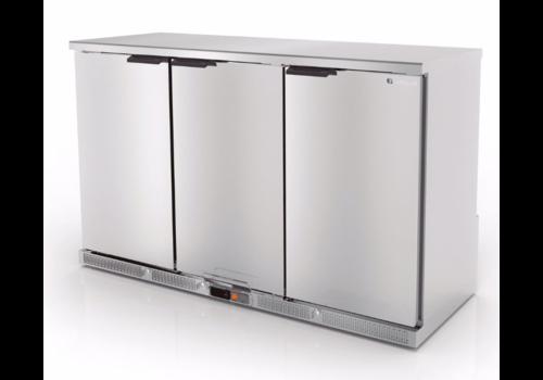 Coreco Bar-Kühlschrank aus Edelstahl | 3 Größen
