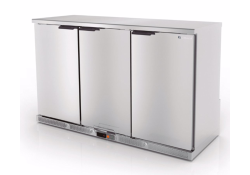 Coreco Forced stainless steel bar fridge | 3 sizes