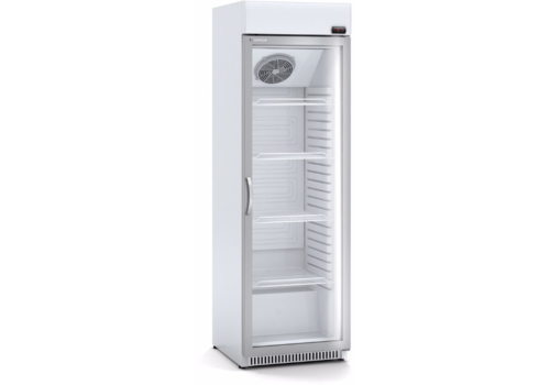 Coreco Forced fridge with glass door | 2 formats