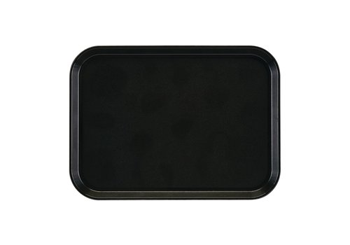 HorecaTraders Tray Rectangular   Anti-slip 35x27cm (2 colors)