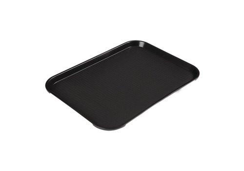 HorecaTraders Fastfood-Fach Polypropylen 41x30cm (3 Farben)