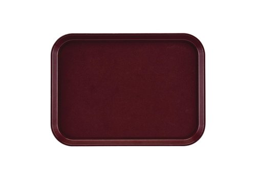 HorecaTraders Rectangular Non-slip Tray | 35x27cm (2 colors)