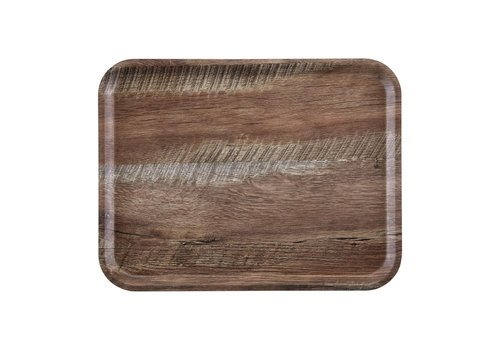 Cambro Madeira laminated tray dark oak | 2 formats
