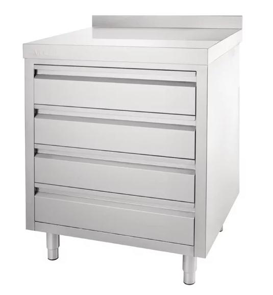 Fine Stainless Steel Workbench With 4 Drawers Spiritservingveterans Wood Chair Design Ideas Spiritservingveteransorg
