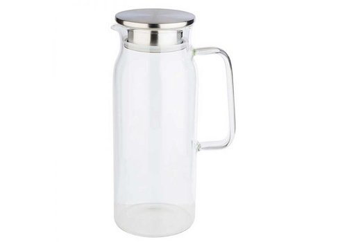 HorecaTraders Glass Carafe | 1.5 liters