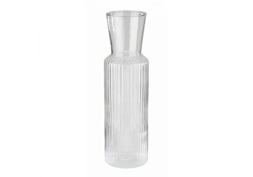 HorecaTraders Glass Carafe | 0.9 liters