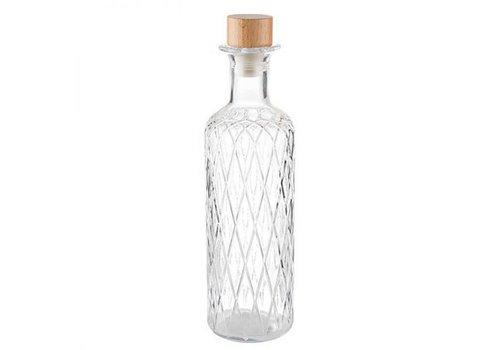 HorecaTraders Glaskaraffe | 0,8 Liter