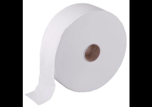 Jantex Jumbo-Toilettenpapierrollen 2-lagig (6 Stück)