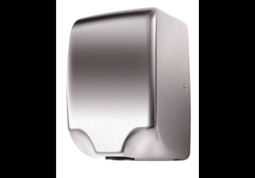 HorecaTraders Handtrockner Silber 230V