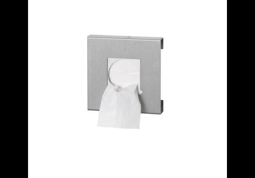 HorecaTraders Stainless Steel Hygiene Bags Dispenser