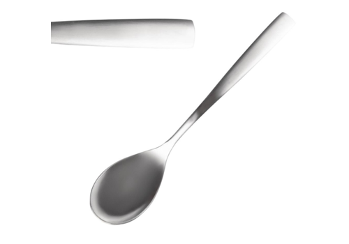 Comas Stainless steel dessert spoons 12 pieces