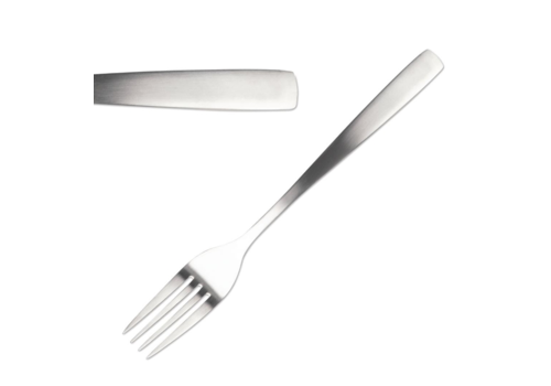 Comas Stainless steel dessert forks 12 pieces