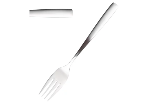 Comas Stainless steel pastry forks 12 pieces