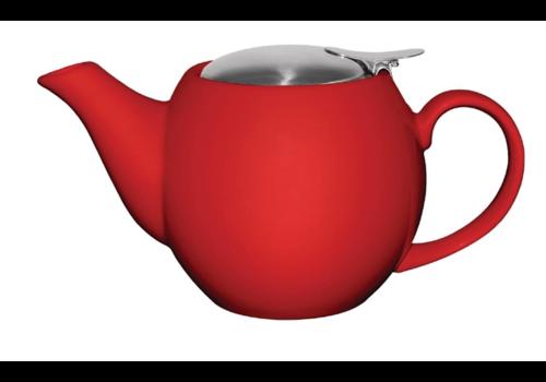 Olympia Porzellanfarbene Teekanne | 51cl