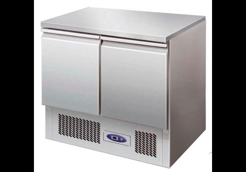Freezer workbench 94.3 x 70 x 87.5 cm | Stainless steel