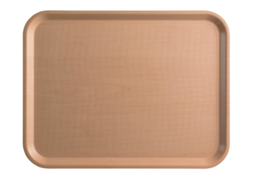 Cambro Light Brown Laminated Tray 2 formats