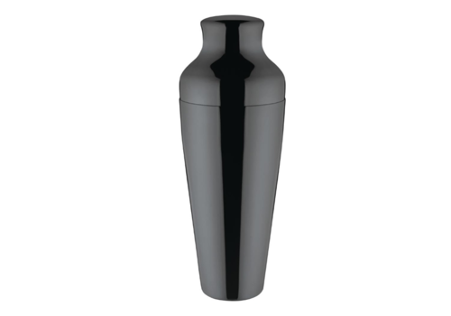 Olympia Black Titanium Cocktail Shaker | 55cl