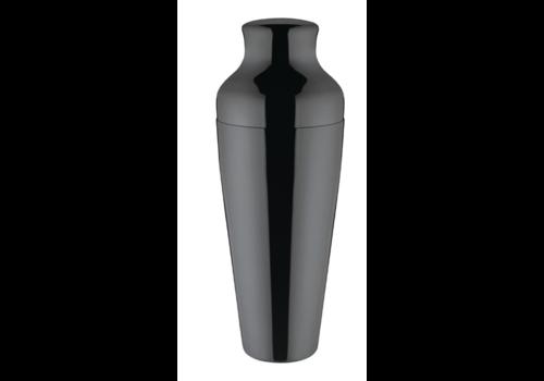 Olympia Zwarte Titanium Cocktailshaker | 55cl