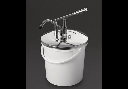 Schneider Saucenspender mit Hebel | Edelstahl 10 Liter