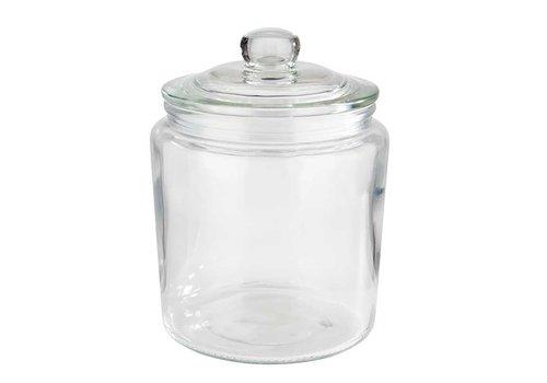 HorecaTraders Glas Bonbons / Keksdose (4 Größen)