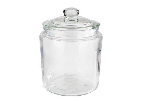 HorecaTraders Glass Sweets / Cookie jar (4 sizes)