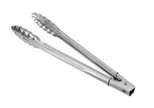 Hendi Stainless steel salad tongs 3 Dimensions